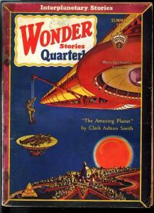 WONDER STORIES QUARTERLY 1931 SUMMER-SCI-FI PULP-RARE G/VG