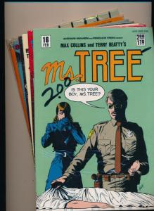 Renegade Press LOT OF 7 Ms. TREE #16,18,19,20,22,23,25 VERY FINE+  (HX797)