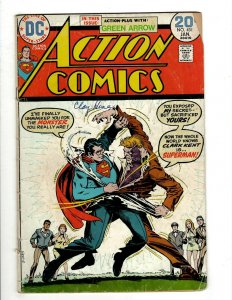 10 Action Comics DC Comics 431 442 444 446 448 450 451 452 453 457 Lois J461