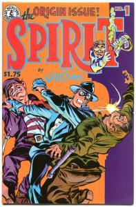 SPIRIT #1 2 3 4 5 6 7 8 9 10 + more, VF+, Eisner, Kitchen Sink, 1983, 81 issues
