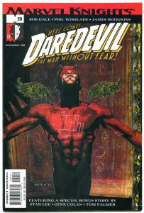 Daredevil vol 2 #20 2001- Bob Gale- Marvel Knights- Netflix series NM-