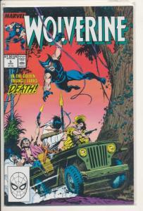 Marvel Wolverine #5 VF/NM (9.0) 1989 (802J)