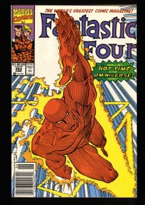 Fantastic Four #353 VF/NM 9.0 Newsstand Variant