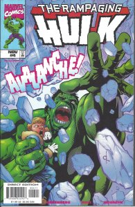 The Rampaging Hulk #4 (Nov 98) - with Fantastic Four cameo