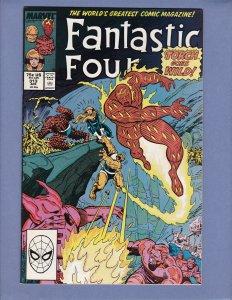 Fantastic Four #313 VG Mole Man Marvel 1988