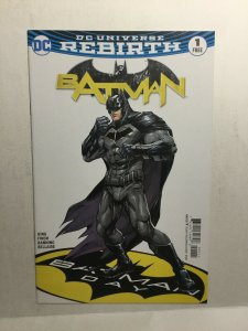 Batman 1 Nm Near Mint Batman Day Free Comic Book Day Rebirth