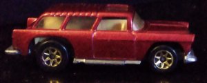 1967 Hot Wheels nomad candy apple red metal plate and in excellent condition