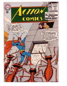 ACTION COMICS #296 1963-SUPERMAN-ANT COVER-D-C COMICS-very good minus VG-