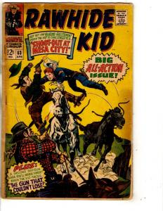 Lot Of 4 Rawhide Kid Marvel Comic Books # 63 65 68 + King Size Special # 1 RH2