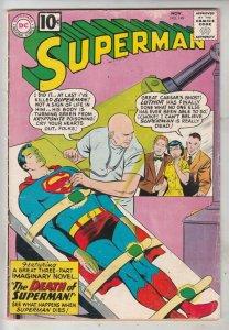 Superman #149 (Nov-61) VG/FN+ Mid-Grade Superman, Jimmy Olsen,Lois Lane, Lana...