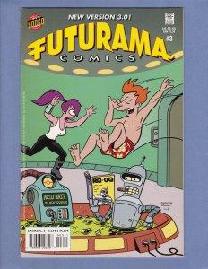 Futurama #3 FN/VF Bongo Comics 2001