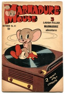 Marmaduke Mouse #41 1953- Golden Age Funny Animals VG