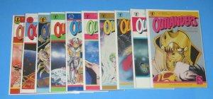 Lot/10 Outlanders Manga Comic Books #9,10,12,15,17,18,19,27,28,29 NM/NM+ Manabe