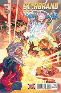 Marvel STARBRAND AND NIGHTMASK #2 NM