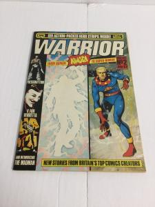 Warrior 2 Vf Very Fine Science Fiction Magazine 2nd Appearance Of V For Vendetta