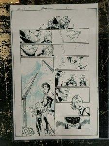 Justice League America 26 Issue 17 Faucher Rebirth Batman Panels