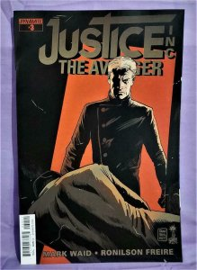 Mark Waid JUSTICE INC The Avenger #3 Ronilson Freire (Dynamite, 2015)!!
