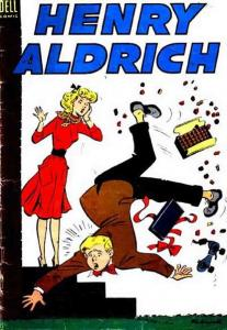 Henry Aldrich #18 VG; Dell | low grade comic - save on shipping - details inside