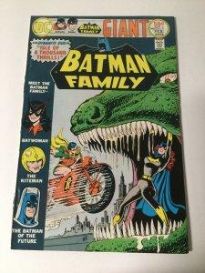 Batman Family Volume 2 3 Vf Veryy Fine 8.0 Dc