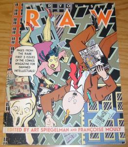 Read Yourself Raw TPB VG art spiegelman - gary panter - bill griffith - KAZ