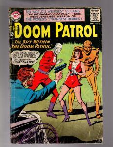 DOOM PATROL 90 GOOD PLUS  September 1964