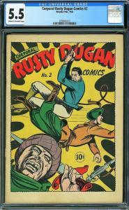 Corporal Rusty Dugan #2 (Holey Oak, 1944) CGC 5.5