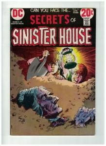 SECRETS OF SINISTER HOUSE 11 FINE PLUS  Apr. 1973