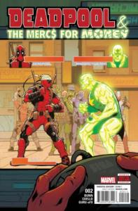 Deadpool & The Mercs for Money (Sept 2016 series) #2, VF+ (Stock photo)
