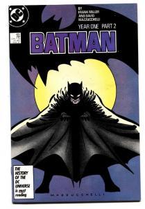 BATMAN #405-comic book-1987-DC nm-