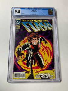 Flash #92 CGC graded 9.8 1st appearance Of Bart Allen as Impulse