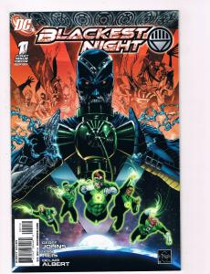 Blackest Night # 1 2nd Print DC Comic Books Hi-Res Scans Awesome Issue WOW!!! S8