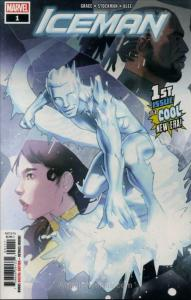 Iceman (4th Series) #1 VF; Marvel | save on shipping - details inside