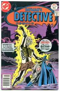 DETECTIVE COMICS #469-First appearance of DR PHOSPHOROUS VF/NM