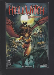HellWitch: Hellbourne #1 Black And White Edition
