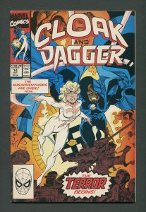 Cloak & Dagger #14 / 9.4 NM+  October 1990