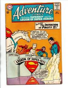 Adventure Comics #322 - Superboy - Initiation of Proty II -Super-pets-1964-FN/VF