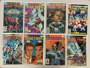 Star Trek lot #1-55 more 1st Series 57 dif books avg 7.0 range (1984-'88)