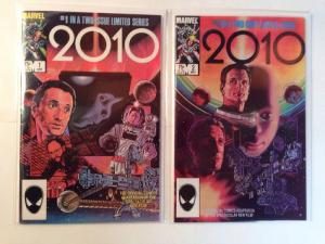 2010 1-2 Complete Near Mint Lot Set Run Movie Adaption