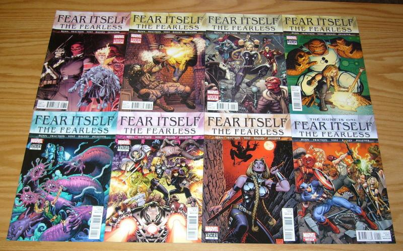 Fear Itself: the Fearless #1-12 VF/NM complete series - valkyrie - cullen bunn