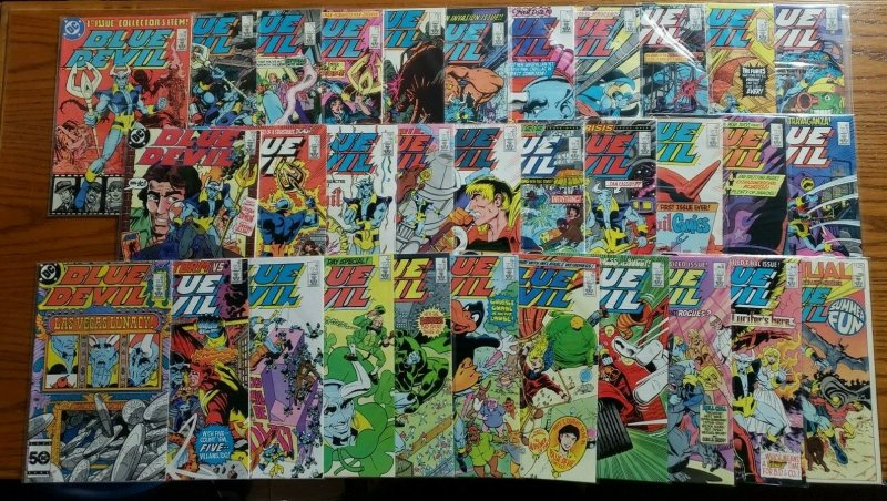 Blue Devil 1-31 + Annual Complete Set Run! ~ NEAR MINT NM ~ 1984 DC Comics
