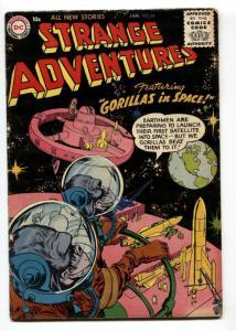 Strange Adventures #64 1956- DC Silver Age sci-fi VG-