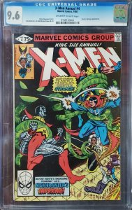 X-Men Annual 4 CGC 9.6 Doctor Strange Marvel 1980