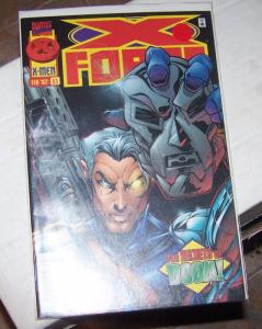 X-Force #63 feb 1997 Marvel  CABLE+  doom