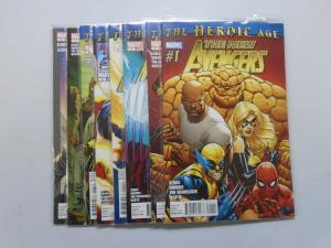 New Avengers (2010 2nd Series), Set:1-8, 8.0/VF (2010)