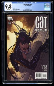 Catwoman #80 CGC NM/M 9.8 White Pages