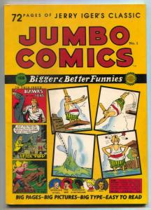 Jumbo Comics #1 1985- golden age reprint-Sheena-Eisner-F/VF