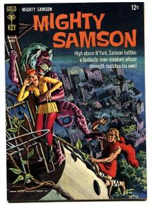 MIGHTY SAMSON #5 1965-GOLD KEY-High Grade comic book NM-