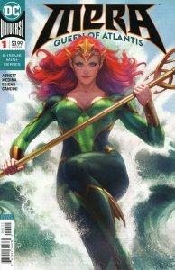 MERA Queen of Atlantis #1 Stanley Lau Artgerm Variant Cover DC Comics 2018