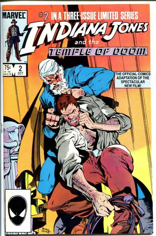 INDIANA JONES AND THE TEMPLE OF DOOM #2-MARVEL VF/NM