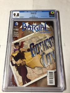 Batgirl 32 Cgc 9.8 Variant Bombshell Bombshells Month